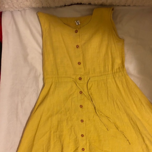 Simple,plain yellow dress! Worn only once